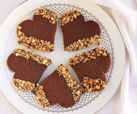 шоколадно-медовое печенье