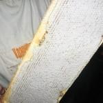 Запечатанная полурамка с медом